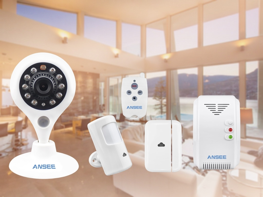 Smart Home Security Kit for Home Alarm System