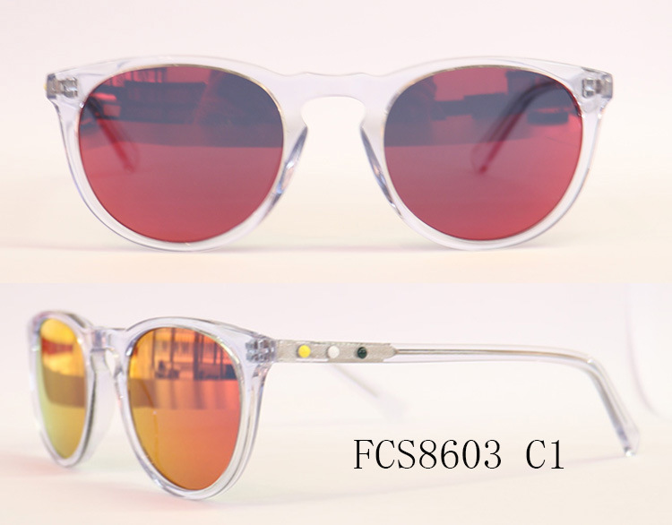 China Hand Make Crystal Acetate Sunglaases Glass Frame of Men or ...
