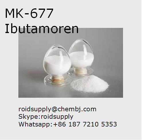 Healthy Bodybuilding Supplement Sarm Powder Mk 677 Ibutamoren
