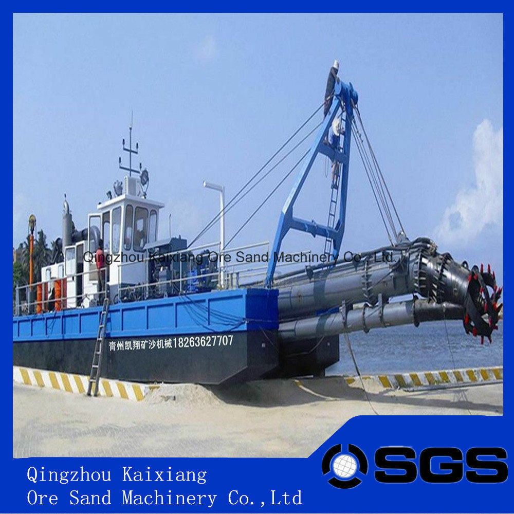 Cutter Suction Dredger for River Sand Dredging