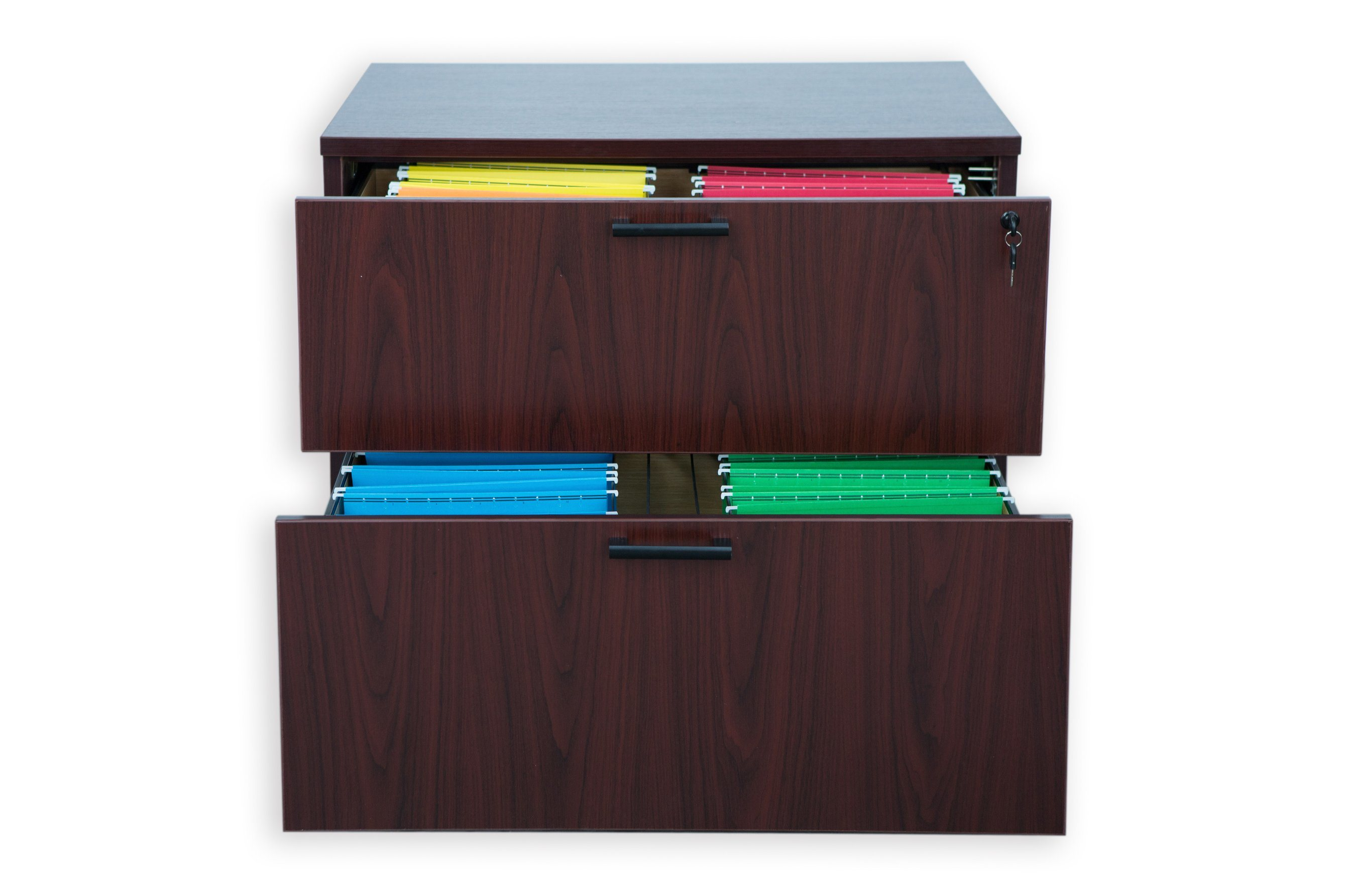 Modern Design Storage Cabinet 2-Drawer Lateral File
