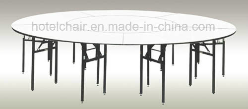 Folding Round Wedding Restaurant Hotel Banquet Table