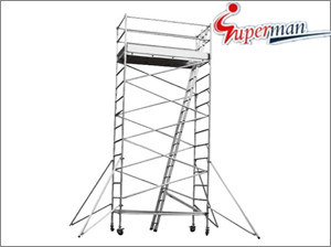 L1.25 X W2.5 Series Aluminum Scaffolding Tower