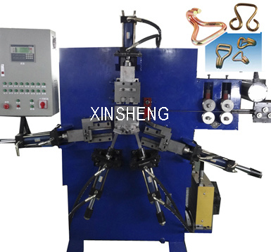Automatic Hydraulic Metal Wire 3D J- Hook Making Machine (GT-JH8)