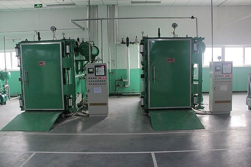 Square Yarn Conditioning Plant