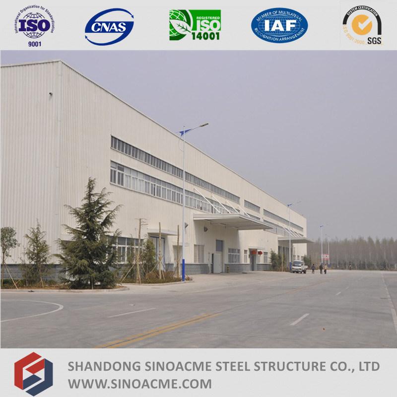 Prefabricated Steel Structure Frame Workshop/Warehouse/Shed