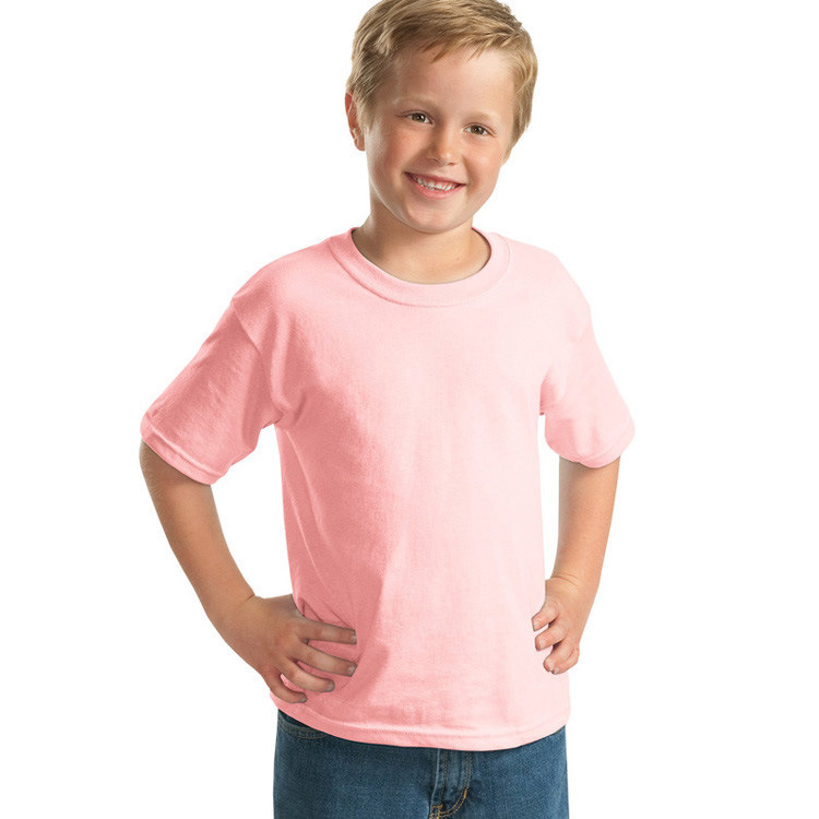 100% Cotton T-Shirts for Children in Short Sleeve