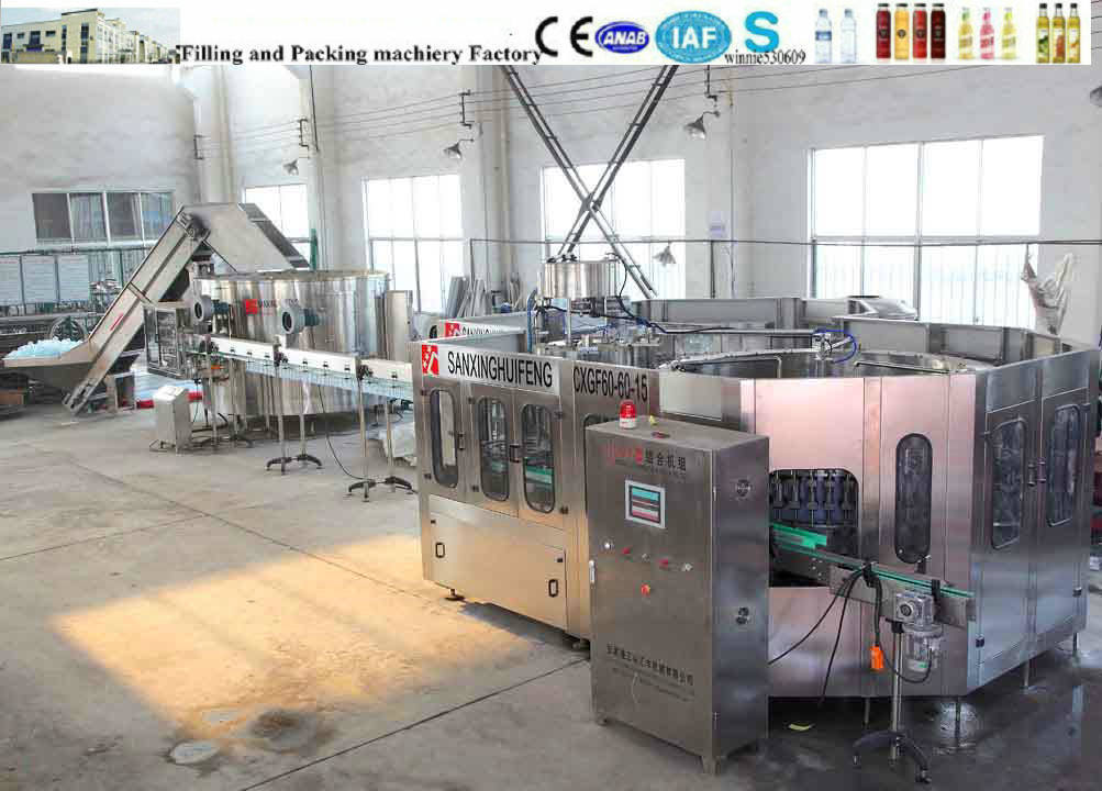 Water Bottling Plant, Automatic Water Production Line, Bottling Plant