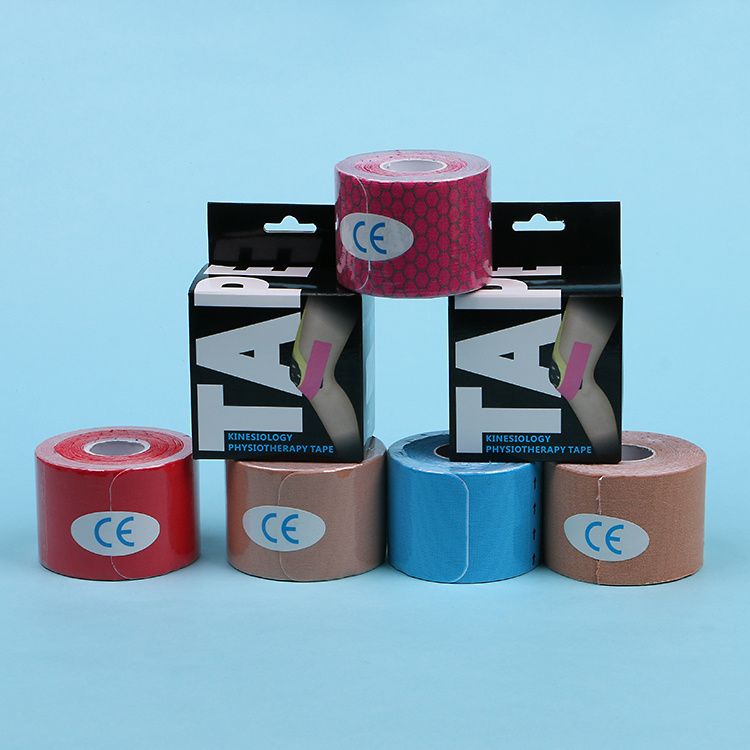 5cmx5m Rehabilitation Therapy Supplies Properties Kinesio Sports Tape