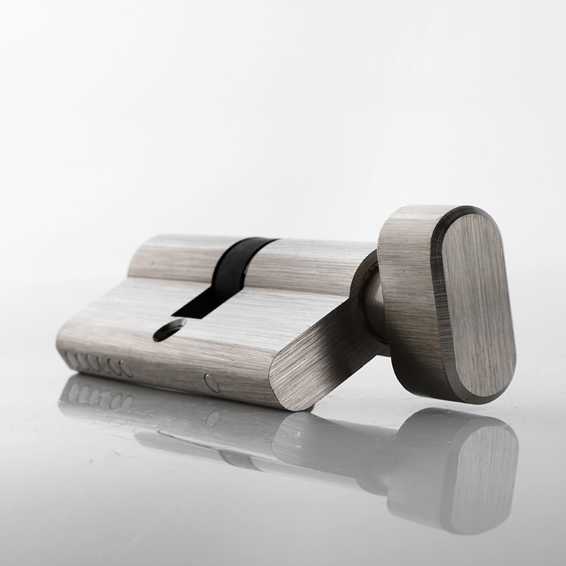 European Style Single Key Cylinder with Thumbturn