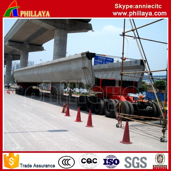4+6 (5+5 available) Modular Trailer 250 Ton Girder Transportation/Girder Trailer