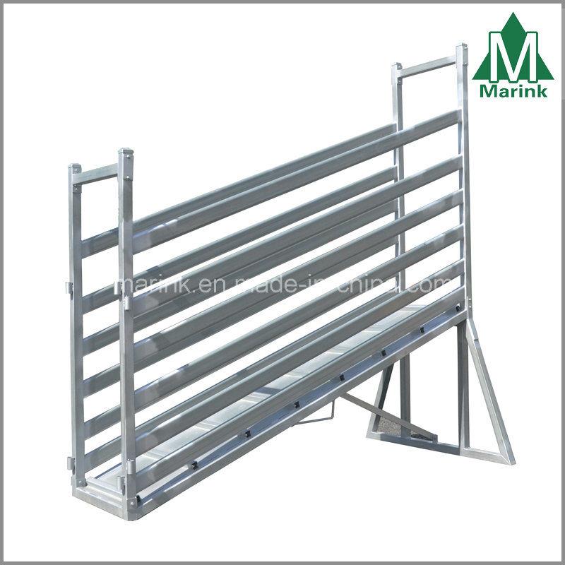 3m Steel Cattle Loading Ramp / Cattle Crush