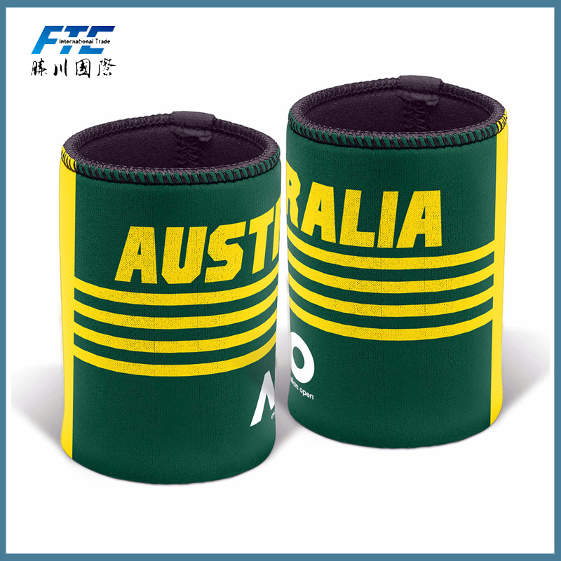 High Quality Neoprene Stubby/Can Holder with Bottom