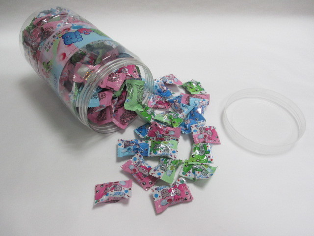 3G Pillow Film Packing Center Filled Chewing Gum