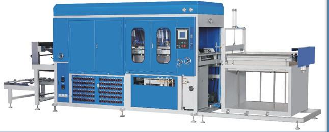 Plastic Vacuum Forming Machine Lz-700/1200A