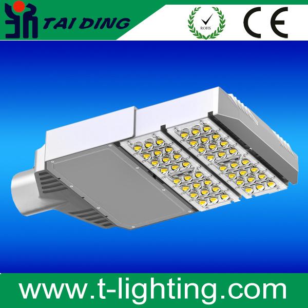 Aluminum Outdoor 50W 100W 150W 200W Outdoor Luminaires Modular Series Street Light