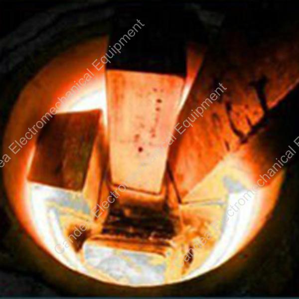Copper Brass Melting Smelting Induction Furnace for Casting