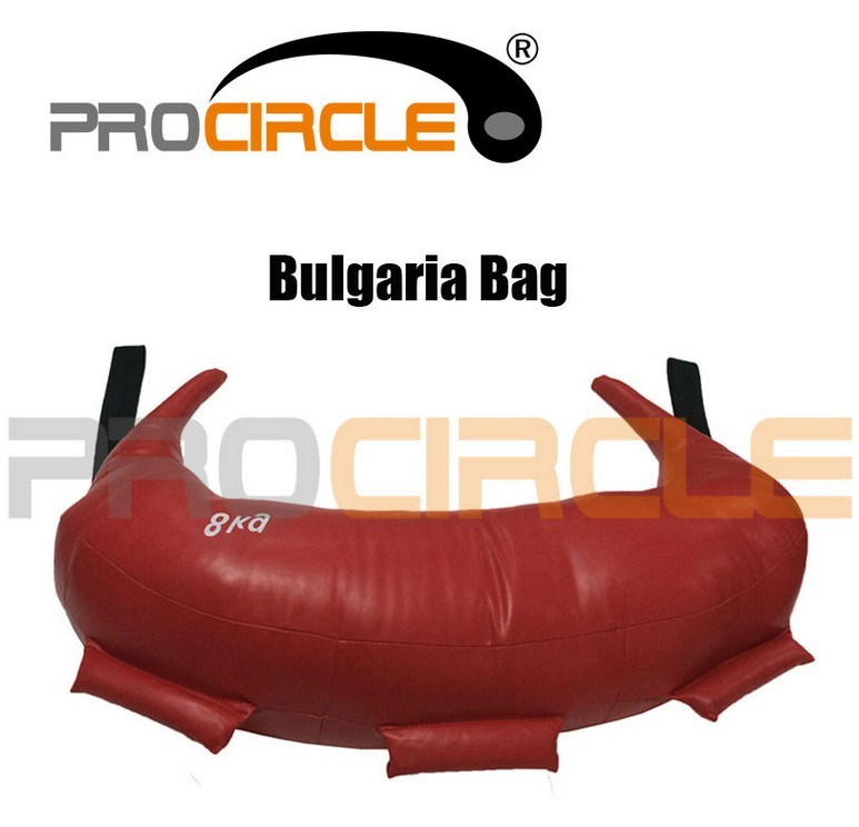 Fitness Power Gym Training PVC and Canvas Bulgarian Bag (PC-BB2034-2039)