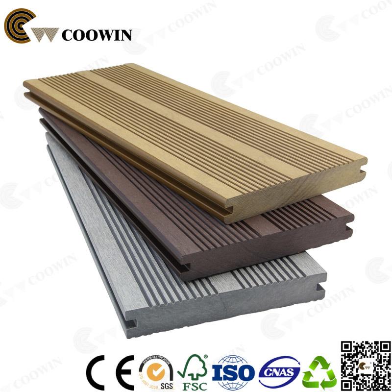 Solid 3D Embossed Engineered Outdoor Wood Flooring (CD-01)