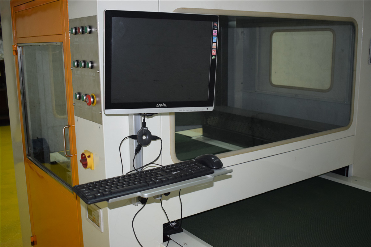 Laser Printing Machine in Jean Washing