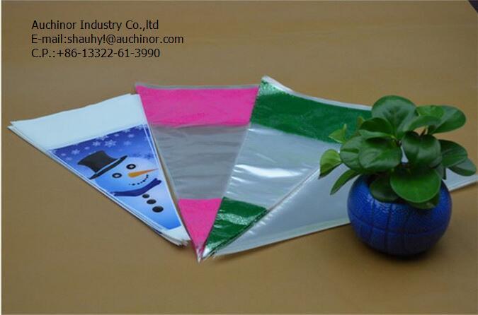 OPP Fresh Flower Packaging Bag with Custom Printing