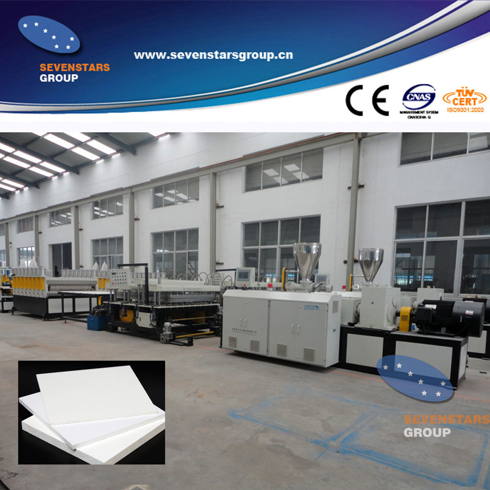 1220mm PVC WPC Foam Board Making Machine