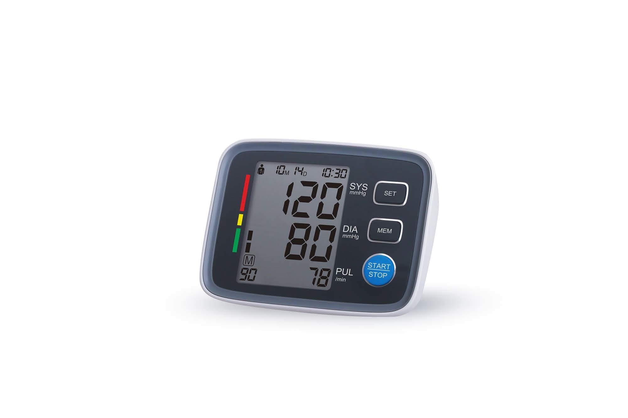 Bluetooth Portable Blood Pressure Monitor Meter Sphygmomanometer