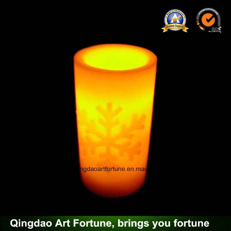 Ivory Outdoor Flameless LED Votive Candle Set with Remote Control