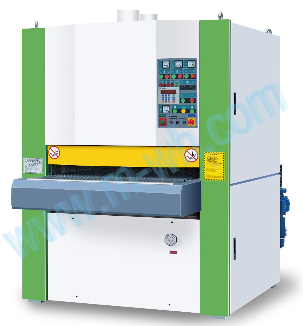 china wide belt 1000mm wood sander machine mw1000a