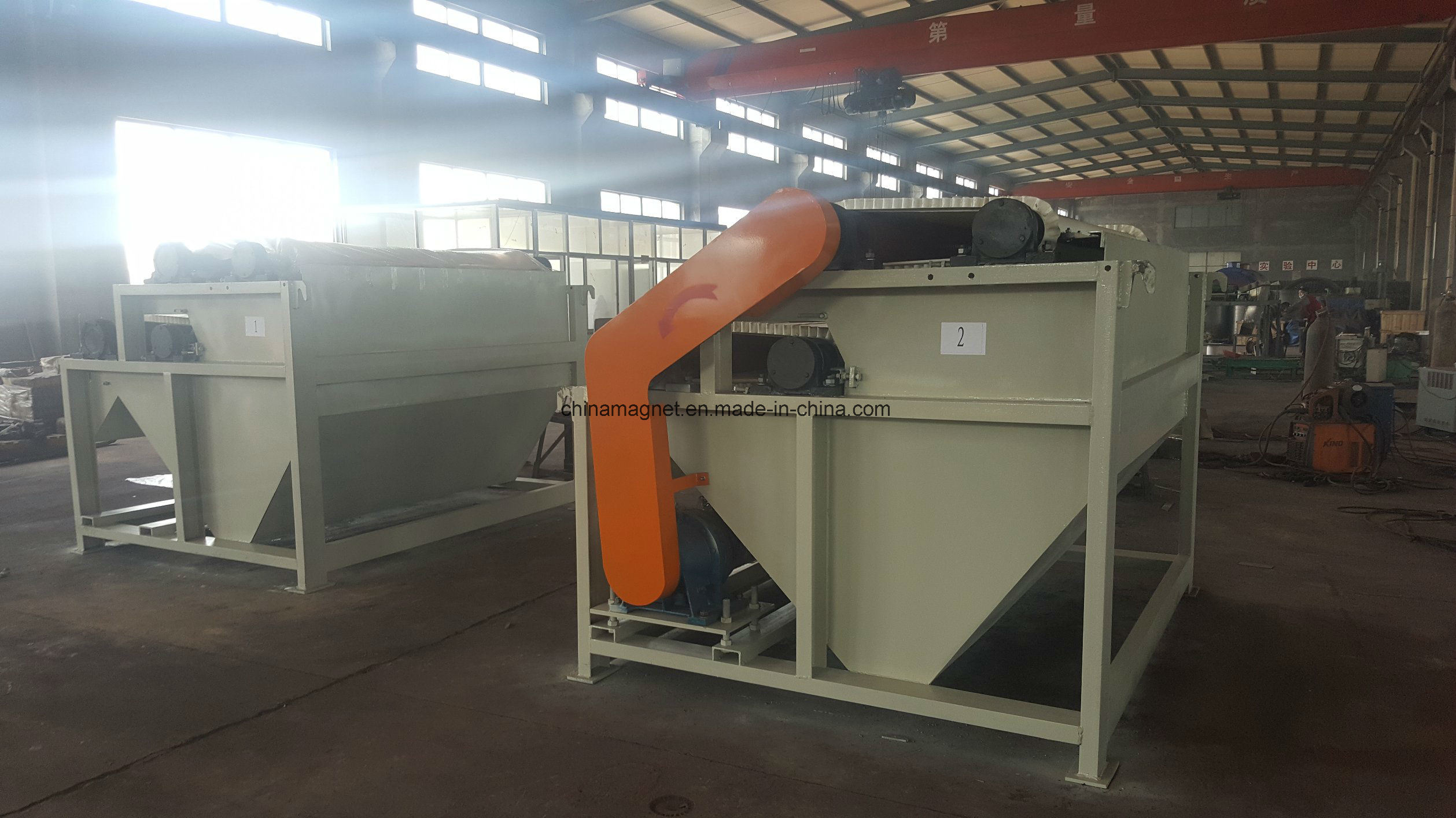 Dry High Intensity Roller Magnetic Separator for Silica Sand Mining