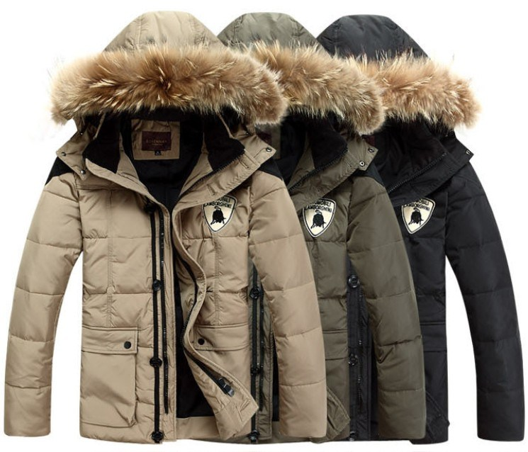 Men′s High Quality Fashion Winter Jacket with Fur (SY-M16)