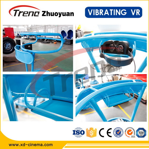 2015 Most Attractive Zhuoyuan Vibrating Vr Simulator