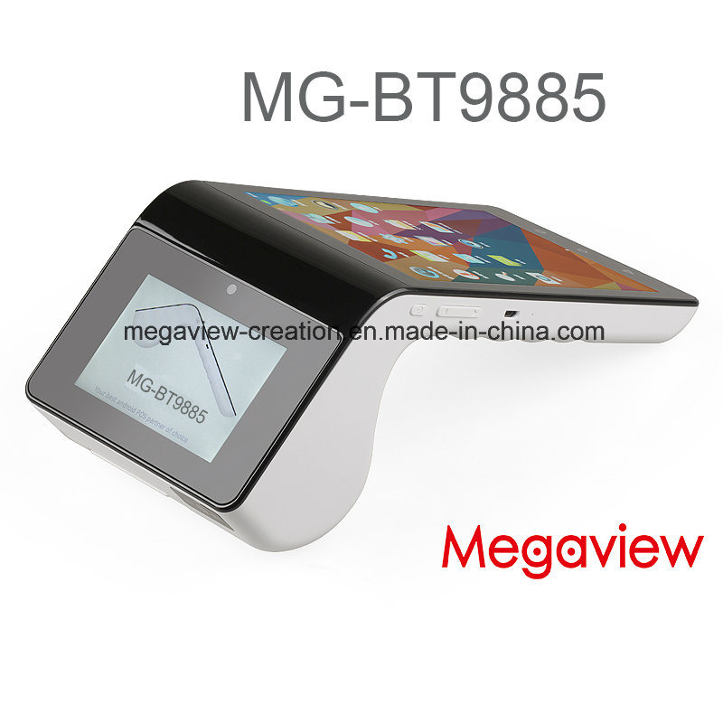 Handheld 7 Inch Tablet Android POS Terminal with Printer