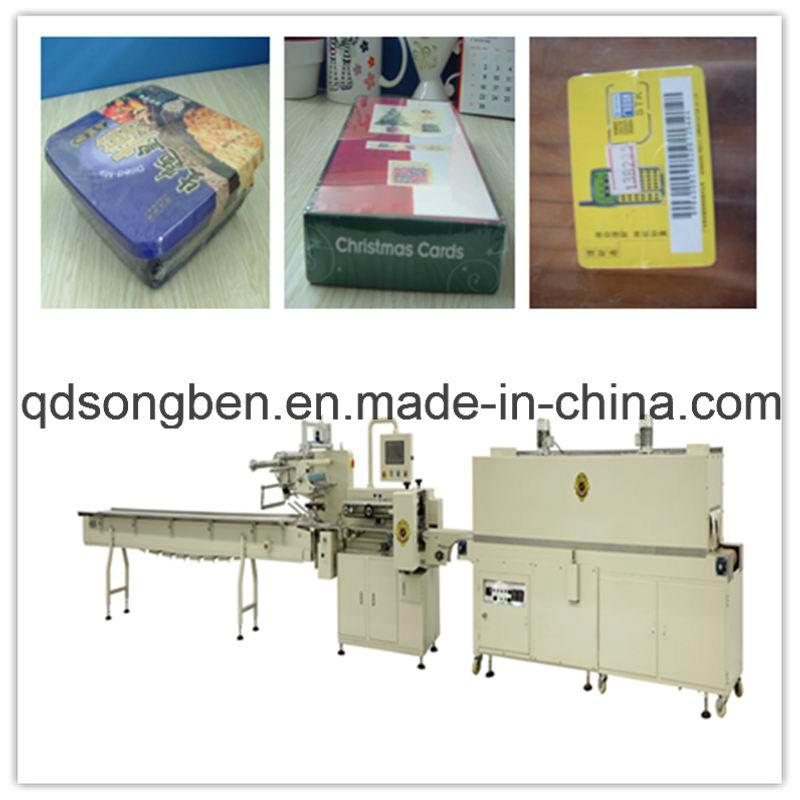 Biscuit Shrink Packaging Machine (SFR 450)