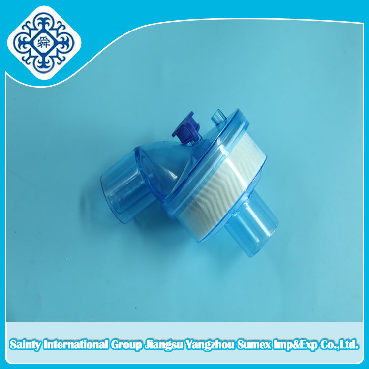 Disposable Anaesthesia Air / Bacteria Filter (Bend Type)