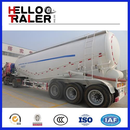 Tri-Axle Trailer Transport Bulk Cement Truck
