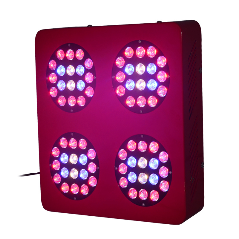 200W Full Spectrum Znet4 UFO LED Grow Light Best for Medical Plant Growing (GS-200W)