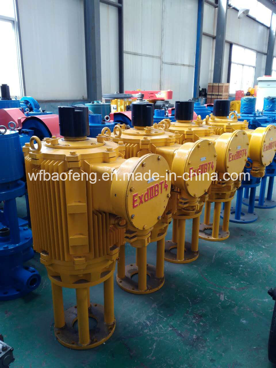 Coalbed Methane Downhole Screw Pump Well Pump Ground Driving Motor