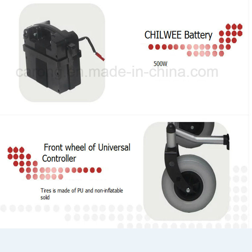 Foldable Electric Wheelchair for The Disabled and Elderly People (JRWD301)