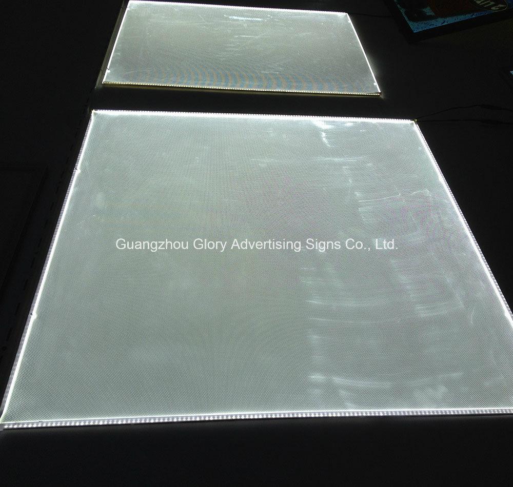 LED Light Guide Panel of Organic Glass for Light Panel