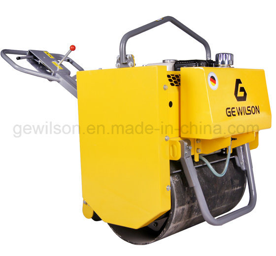Single Drum Vibratory Road Roller with Honda Engine