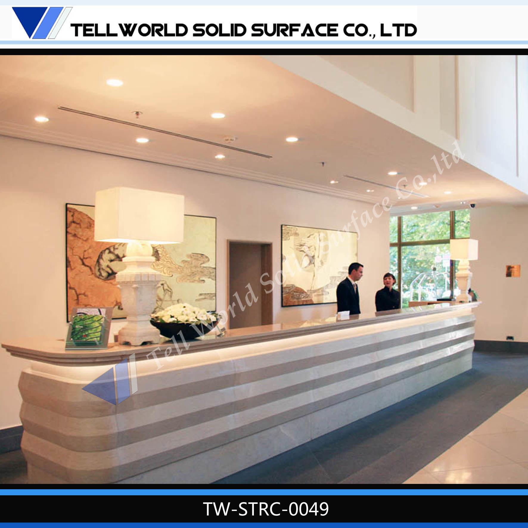 Modern Design Information Desk Furniture Hotel Reception Furniture