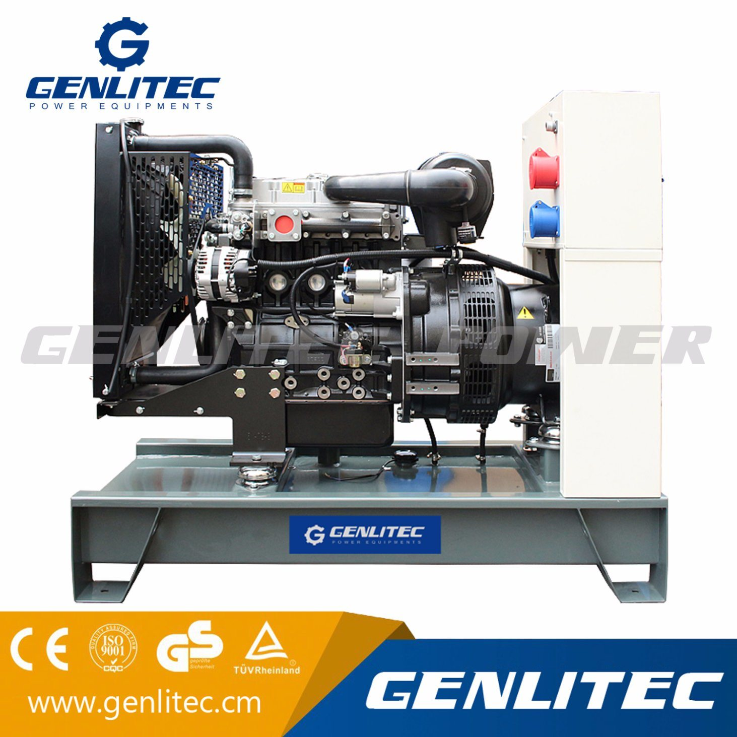 China Portable Open Type 3phase 10kw Diesel Generator with Perkins