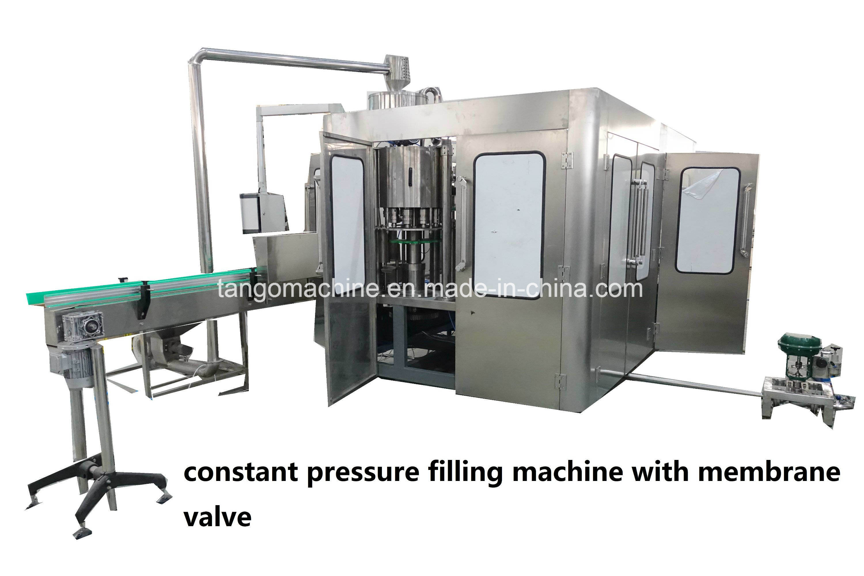Automatic Soda Water Carbonated Beverage Drinks Bottle Filling Bottling Machine