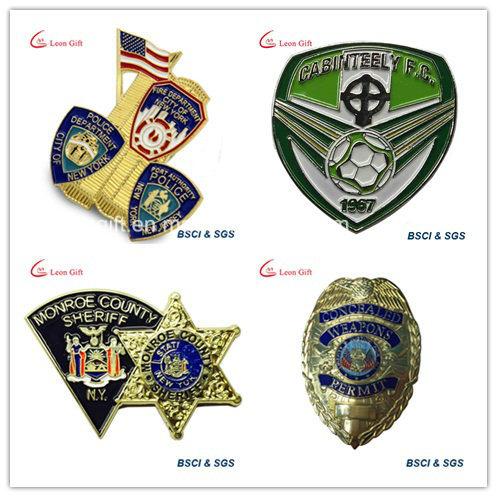 Factory Customized Company Logo Enamel Badge Lapel Pins