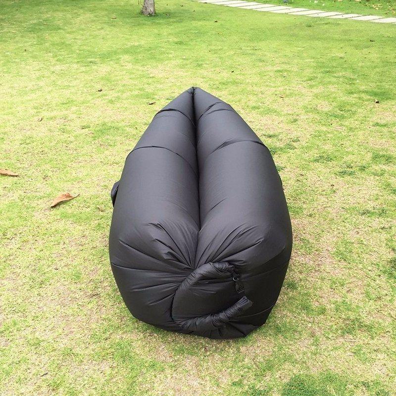 2017 Fast Inflatable Laybag Air Sleeping Bag Air Banana Sofa