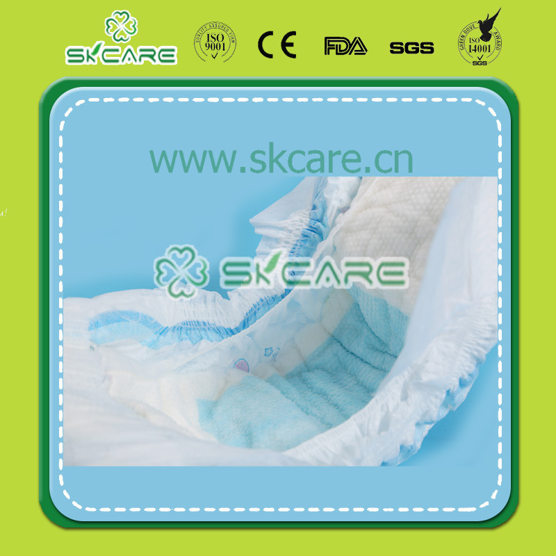Middle Elastic Baby Diaper OEM Popular in Market Well Selling