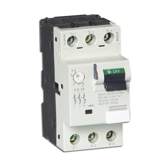 Motor Protector Motor Protection Circuit Breaker Dz518 (GV2-M)