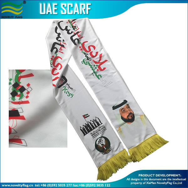 Fan Football Club Silk Satin Scarf (B-NF19F06013)