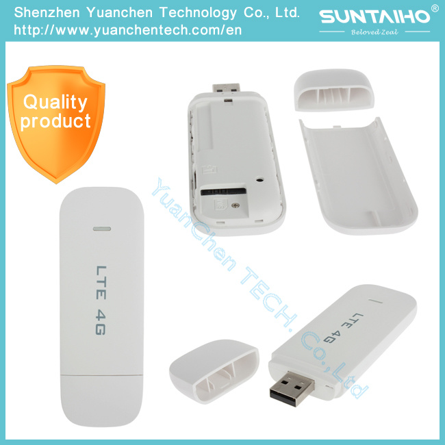 4G Lte USB 100Mbps Wireless Modem of USB Stick Hotspot WCDMA GSM Edge HSPA SIM Card